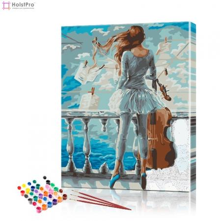 "Картина по номерам ""Балерина"" PBN0164, размер 40х50 см"