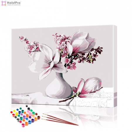 "Картина по номерам ""Нежный букет"" PBN0299, размер 40х50 см"