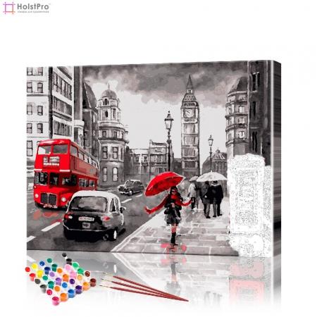 "Картина по номерам ""Улочки Лондона"" PBN0315, размер 40х50 см"