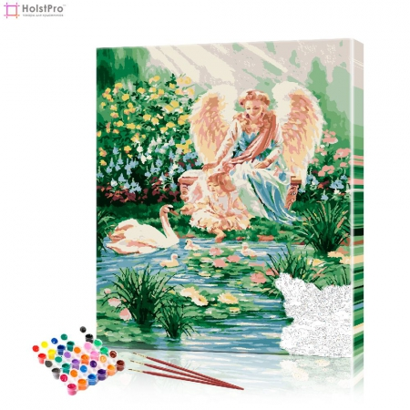 """Картина по номерам """"Ангелы"""" PBN0317, размер 40х50 см"""