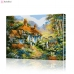"Картина по номерам ""Альпийская деревня"" PBN0319, размер 40х50 см"
