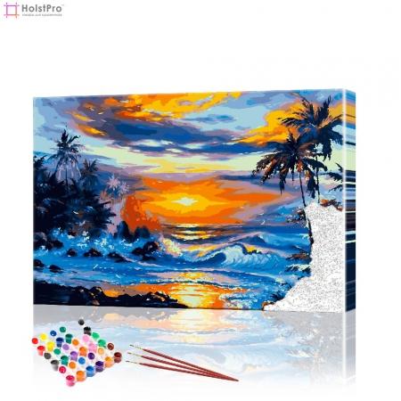 "Картина по номерам ""Морской пейзаж"" PBN0321, размер 40х50 см"
