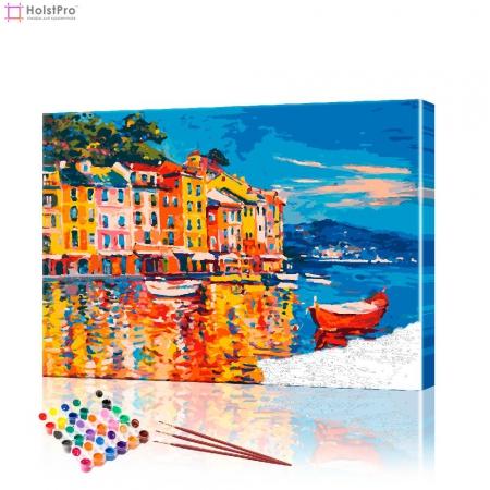 "Картина по номерам ""Портофино"" PBN0323, размер 40х50 см"