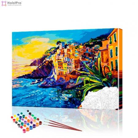 "Картина по номерам ""Пейзажи Портофино"" PBN0327, размер 40х50 см"