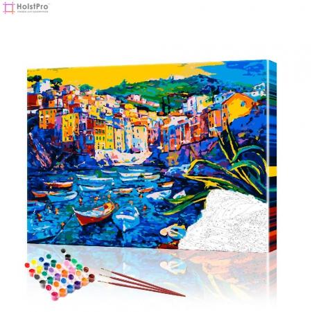 "Картина по номерам ""Красочный пейзаж"" PBN0329, размер 40х50 см"