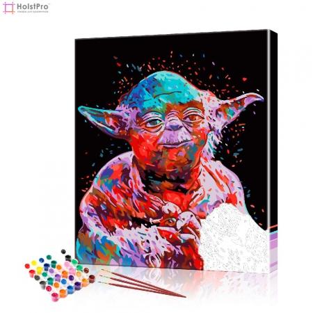 """Картина по номерам """"Звездные войны - Йодо"""" PBN0337, размер 40х50 см"""