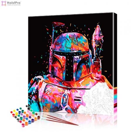 """Картина по номерам """"Звездные войны - Штурмовик"""" PBN0339, размер 40х50 см"""