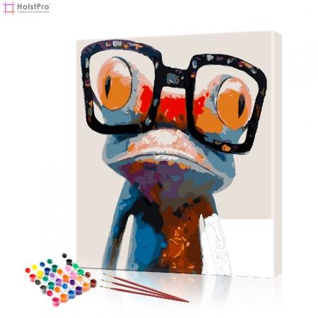 "Картина по номерам ""Лягушонок"" PBN0481, размер 40х50 см"