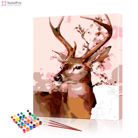 "Картина по номерам ""Косуля"" PBN0497, размер 40х50 см"