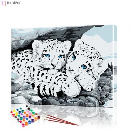 "Картина по номерам ""Маленькие ягуары"" PBN0751, размер 40х50 см"