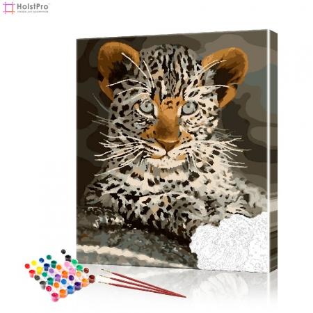 "Картина по номерам ""Маленькия ягуар"" PBN0855, размер 40х50 см"