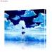 """Картина по номерам """"Аниме - идущая по воде"""" PBN1006, размер 40х50 см"""