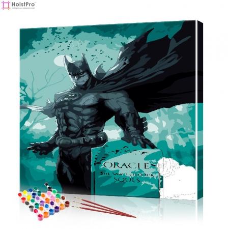 "Картина по номерам ""Бэтмен"" PBN1016, размер 40х40 см"