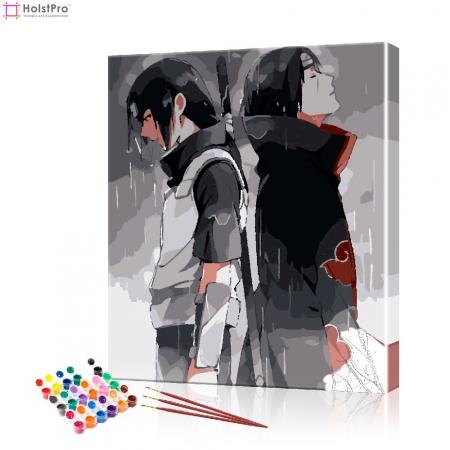 """Картина по номерам """"Аниме #8"""" PBN1039, размер 40х50 см"""