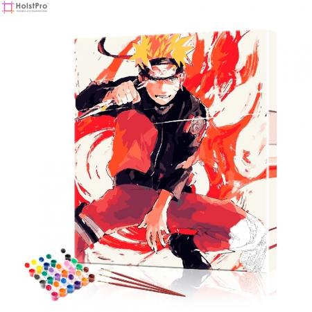 "Картина по номерам ""Аниме - Наруто"" PBN1041, размер 40х50 см"
