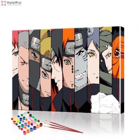 "Картина по номерам ""Аниме - Наруто"" PBN1043, размер 40х50 см"