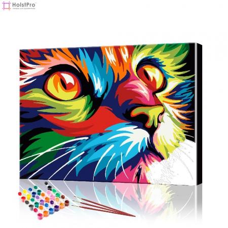 "Картина по номерам ""Кошачий взгляд"" PBN0627, размер 40х50 см"