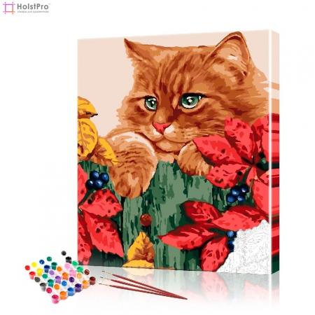 "Картина по номерам ""Рыжий кот"" PBN0917, размер 40х50 см"