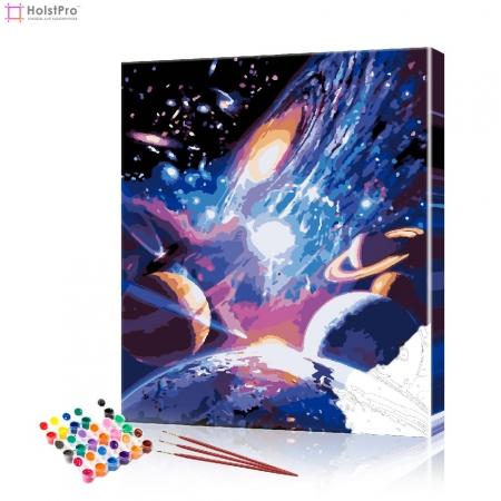 """Картина по номерам """"Космос"""" PBN0599, размер 40х50 см"""