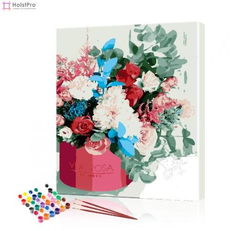 """Картина по номерам """"Весенний букет"""" PBN0823, размер 40х50 см"""