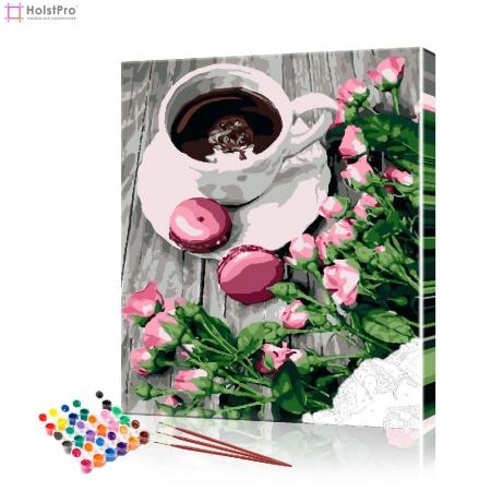 """Картина по номерам """"Кофейный натюрморт"""" PBN0837, размер 40х50 см"""