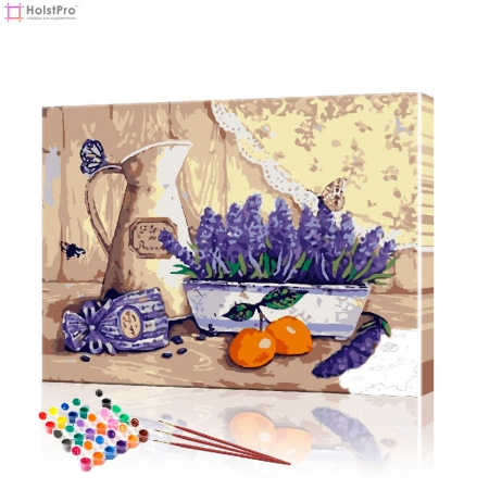 "Картина по номерам ""Прованский натюрморт"" PBN0969, размер 40х50 см"
