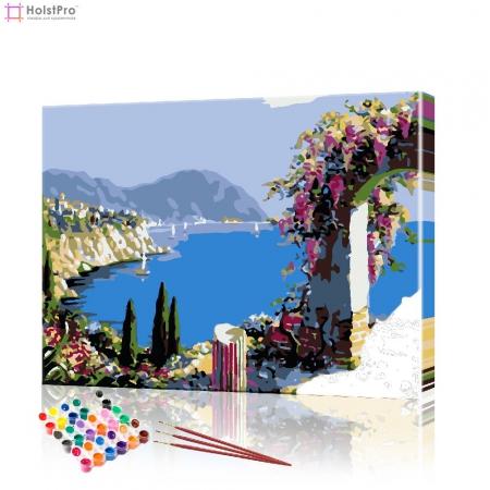 """Картина по номерам """"Вид на залив"""" PBN0465, размер 40х50 см"""