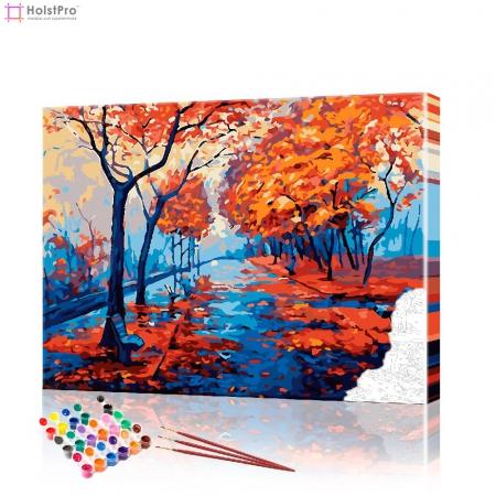 """Картина по номерам """"Осенний парк"""" PBN0467, размер 40х50 см"""