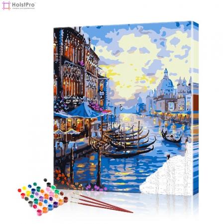 """Картина по номерам """"Венецианская набережная"""" PBN0471, размер 40х50 см"""