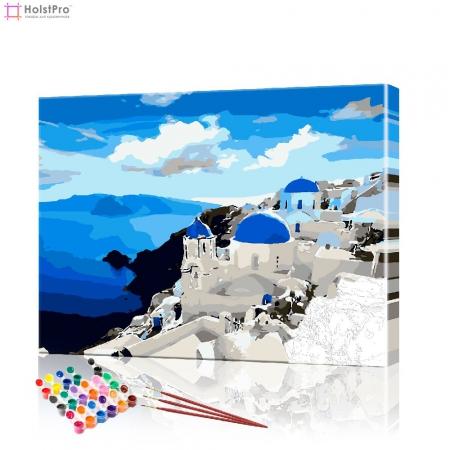 "Картина по номерам ""Греция"" PBN0483, размер 40х50 см"