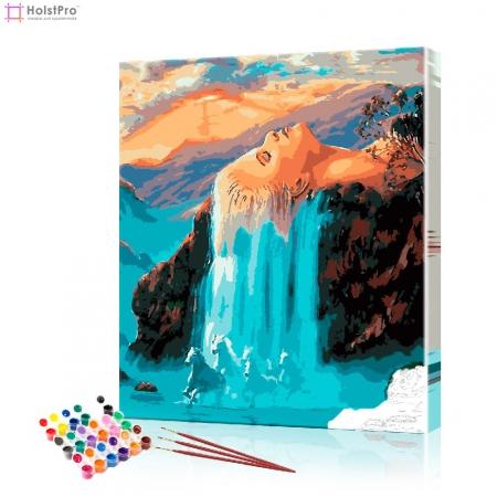 "Картина по номерам ""Водопад"" PBN0567, размер 40х50 см"