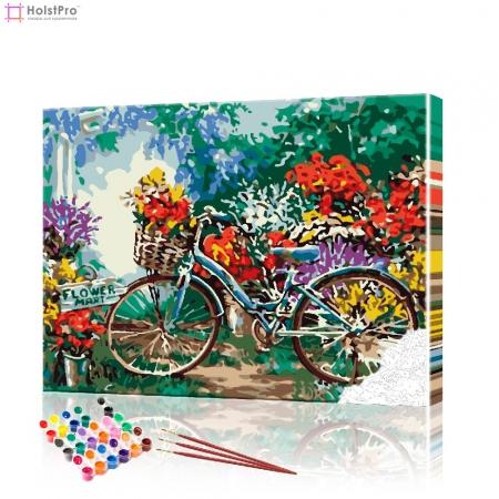 """Картина по номерам """"Велосипед"""" PBN0861, размер 40х50 см"""