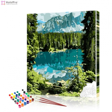 "Картина по номерам ""Лесное озеро"" PBN0913, размер 40х50 см"