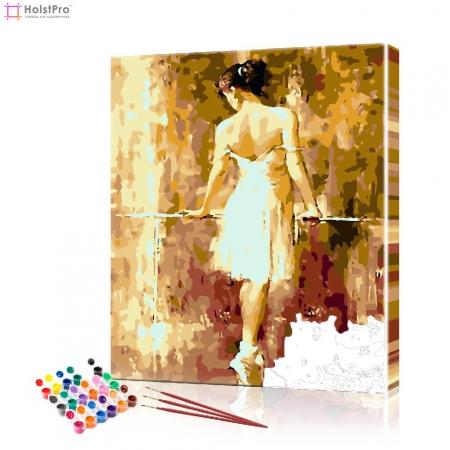 """Картина по номерам """"Балетный класс"""" PBN0671, размер 40х50 см"""