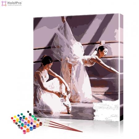 """Картина по номерам """"Балерины"""" PBN0711, размер 40х50 см"""