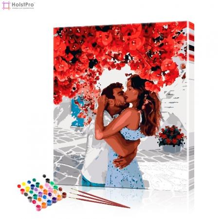 """Картина по номерам """"Влюблённые в Италии"""" PBN0785, размер 40х50 см"""