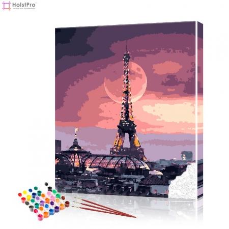 "Картина по номерам ""Лунная ночь"" PBN0975, размер 40х50 см"