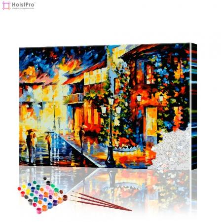 "Картина по номерам ""Уличный пейзаж"" PBN0188, размер 40х60 см"
