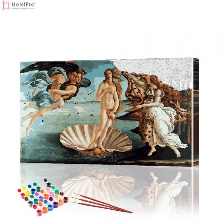 """Картина по номерам """"Рождение Венеры"""" PBN0196, размер 40х60 см"""