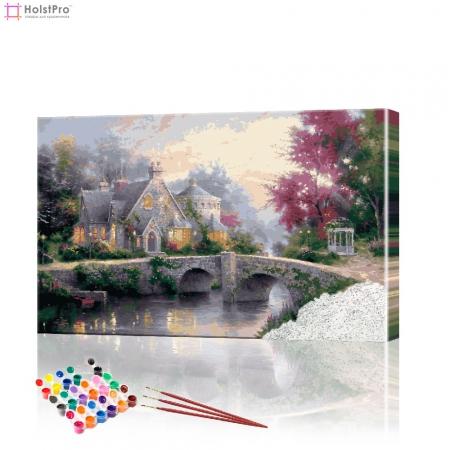 """Картина по номерам """"Сказочный замок"""" PBN0210, размер 40х60 см"""