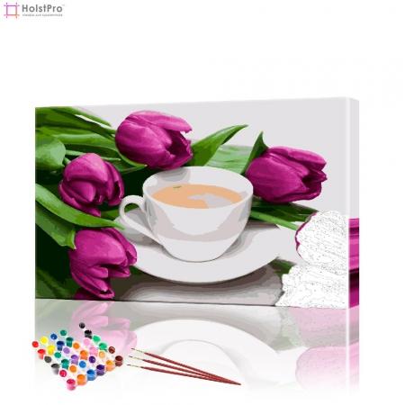 """Картина по номерам """"Кофейный натюрморт"""" PBN0345, размер 40х60 см"""