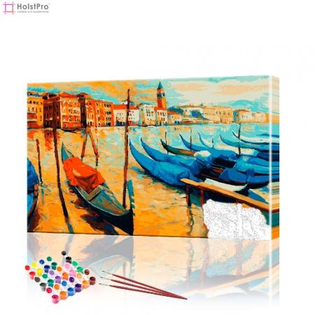 """Картина по номерам """"Прекрасная Венеция"""" PBN0353, размер 40х60 см"""