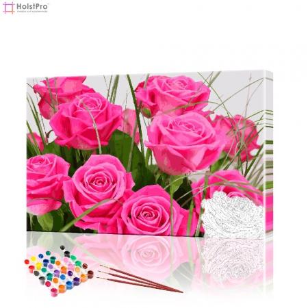"""Картина по номерам """"Прекрасные розы"""" PBN0365, размер 40х60 см"""