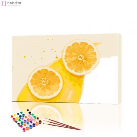 "Картина по номерам ""Лимоны"" PBN0379, размер 40х60 см"