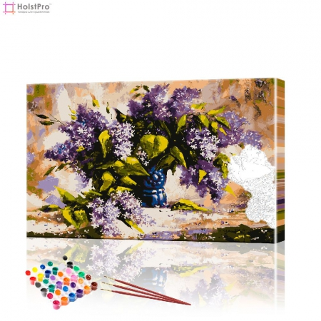 "Картина по номерам ""Букет сирени"" PBN0387, размер 40х60 см"