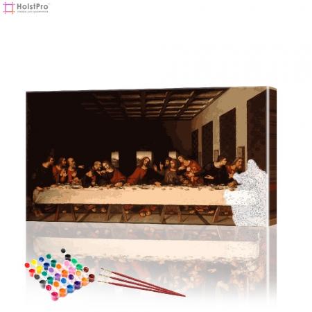 """Картина по номерам """"Тайная вечеря"""" PBN0251, размер 40х70 см"""