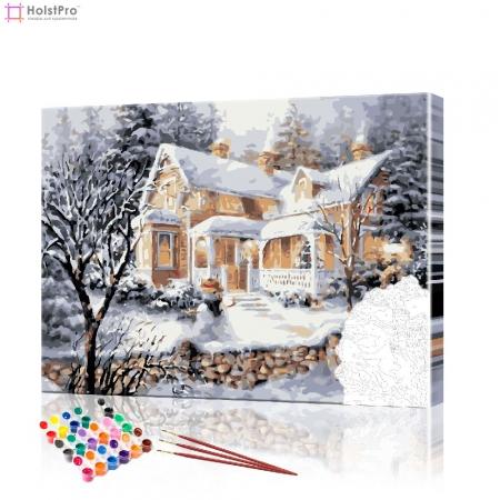 "Картина по номерам ""В преддверии Рождества"" PBN0424, размер 40х50 см"