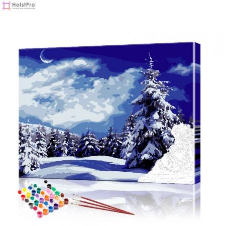 "Картина по номерам ""Зимний лес"" PBN0426, размер 40х50 см"