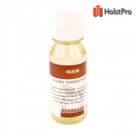 Масло терпентиновое (разбавитель масляный), 100мл, Renesans