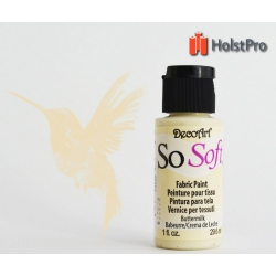 Краска для ткани, SoSoft, DecoArt (29мл), акриловая, Кремовая